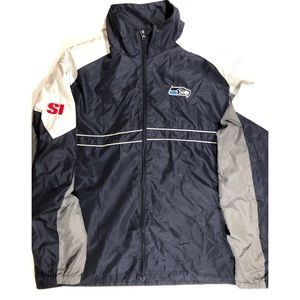 Seahawks sports illustrated jacket by dunbrooke.
